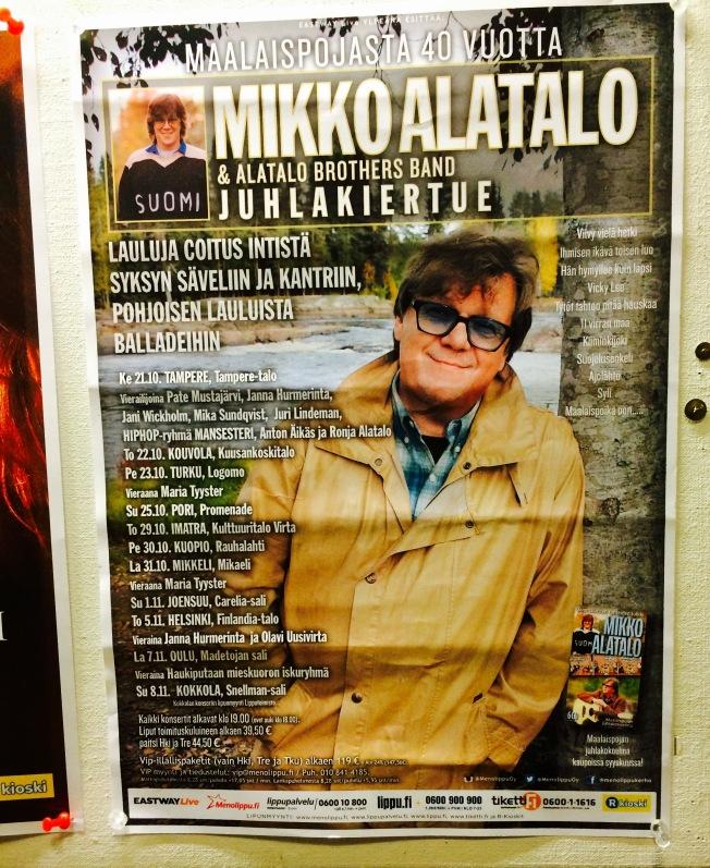 Mikko Alatalo Poster